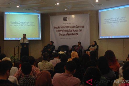 ICW: Dua paslon belum pikirkan efek deteran pemiskinan koruptor