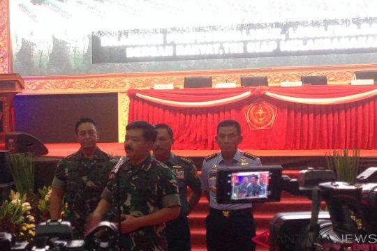 Rapim TNI petakan tantangan keamanan negara 2019 yang harus diantisipasi