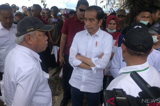 Presiden tawarkan relokasi ke korban tsunami di Lampung Selatan
