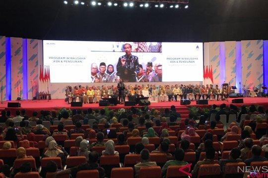 Jokowi buka rahasia sukses jadi pengusaha pada pensiunan