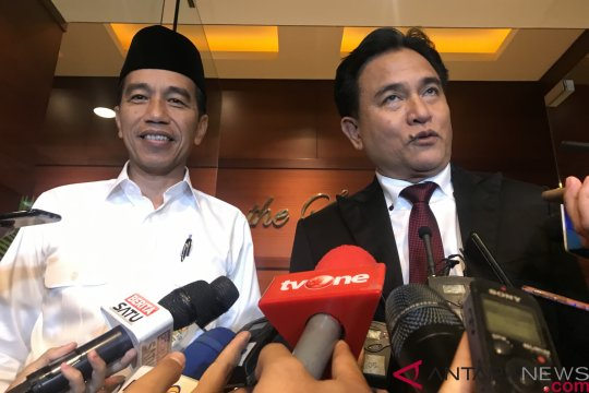 Yusril: PBB Sultra pertama deklarasi dukung Jokowi-Ma'aruf