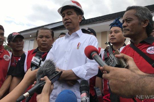 Jokowi sediakan fasilitas perumahan untuk komunitas mulai 2019