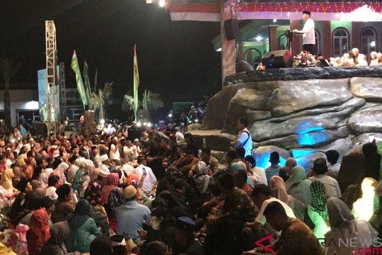 Presiden Jokowi sampaikan pesan persatuan kepada jamaah dzikir akbar di Rengasdengklok