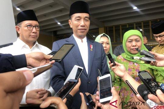 Jokowi minta Muslimat NU wujudkan Islam Moderat