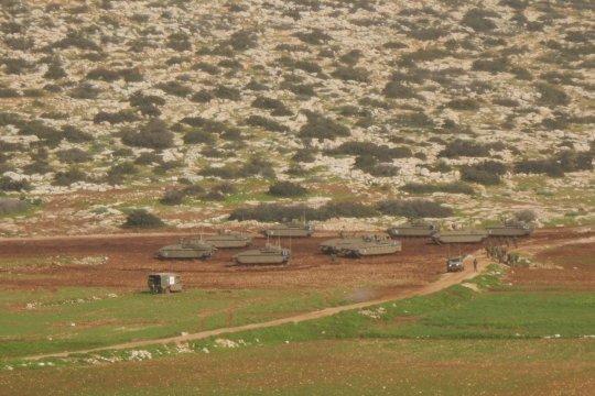 Pasukan Israel usir 13 keluarga Palestina buat pelatihan militer