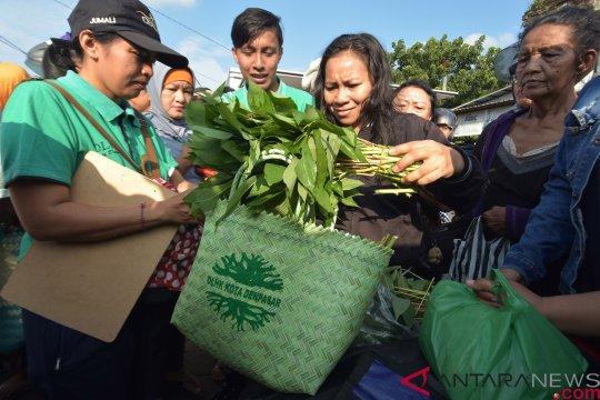 "5.000 tas ramah lingkungan habis dibagikan pada  ""Festival Denpasar"""