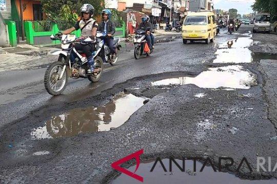 Jalan rusak berat di Kota Pekanbaru capai 362 Km