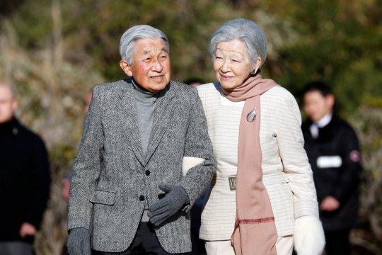 Kaisar Jepang rayakan pernikahan intan
