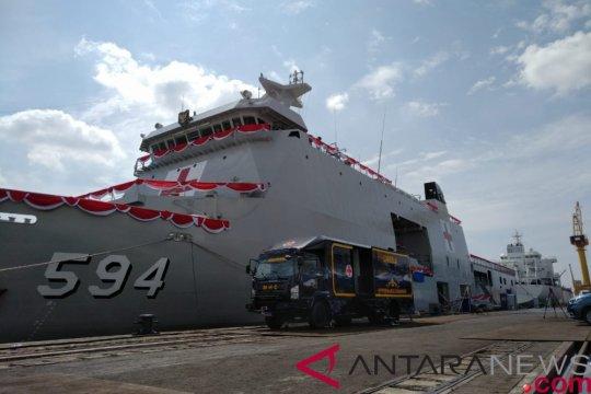PAL serahkan kapal perang rumah sakit ke TNI AL