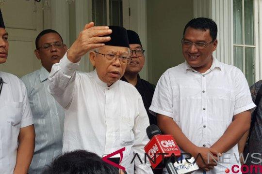 Cawapres Ma'ruf Amin istighatsah di Tangerang