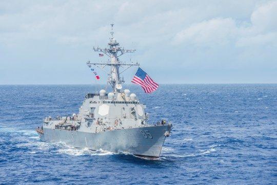 Kapal AS layari Laut China Selatan yang disengketakan