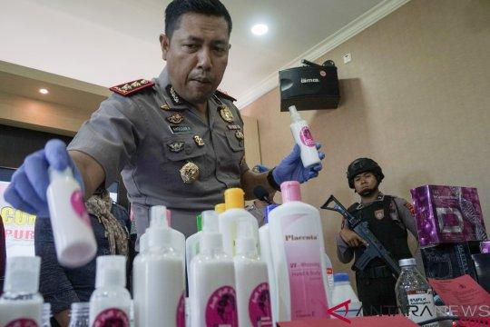 Polisi Purbalingga bongkar kasus peredaran kosmetik ilegal