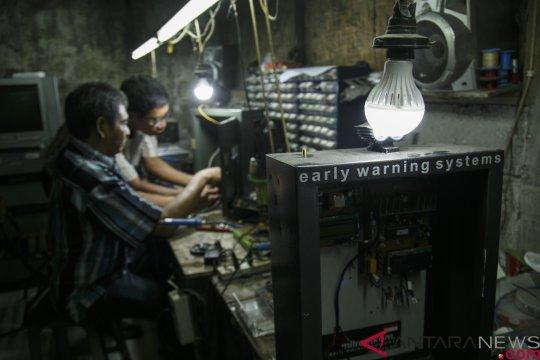 Baterai peringatan dini tsunami di Agam dicuri