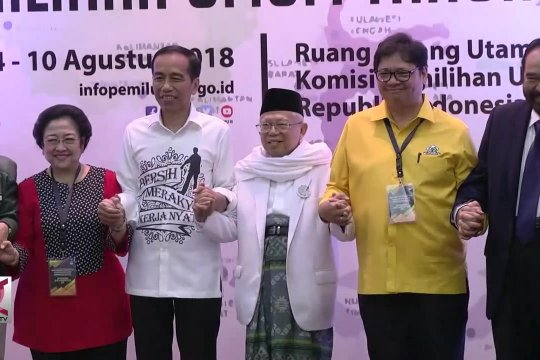 Jokowi-Ma'ruf tak akan serang personal lawan debat