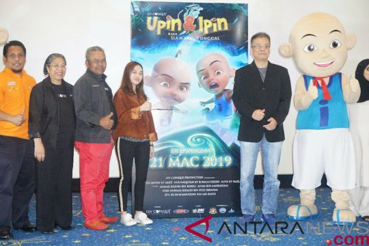 "Film ""Upin & Ipin Keris Siamang"" tayang Maret"