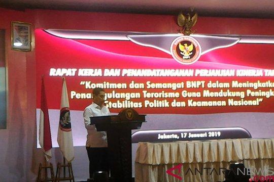 BNPT beri masukan kepada Jokowi soal penanganan terorisme