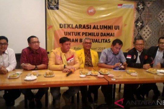 Ikatan Alumni UI deklarasi pemilu berkualitas