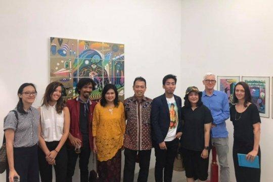 Karya 12 seniman muda Indonesia dipamerkan di Australia