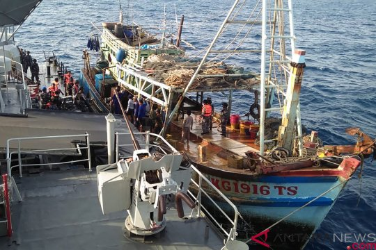 Penangkapan Kapal Ikan Ilegal