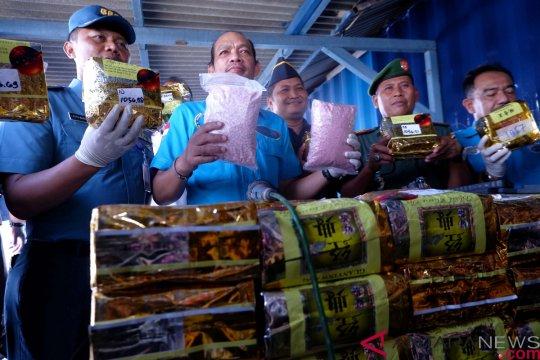 BNN gagalkan penyelundupan 72 kilogram sabu-sabu