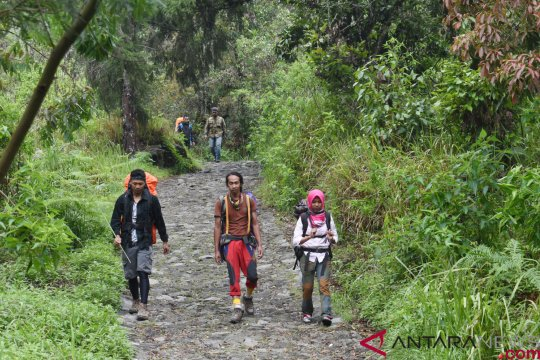 Pencarian pendaki hilang di Gunung Lawu dihentikan