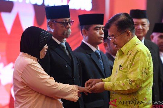 Wapres JK Bertolak ke Makassar Lantik Pengurus PMI