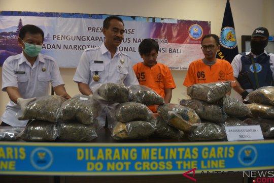 "Bali ""perang"" lawan narkoba"