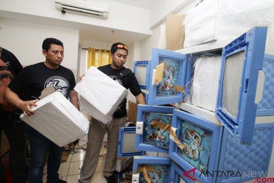 Obat daftar G di gudang narkoba apartemen Puri Park View berstatus ilegal