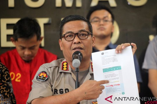 Polisi benarkan tangani kasus pembobolan bank tersangka RP