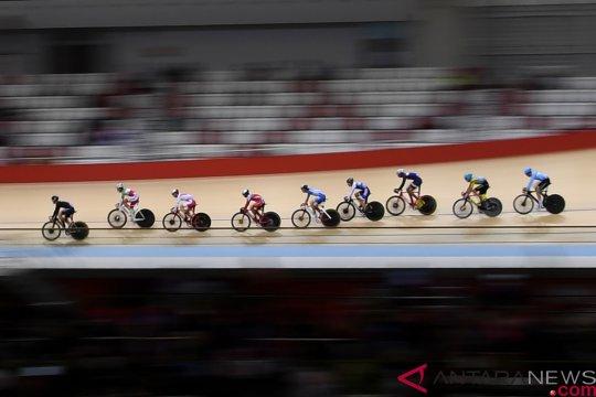 Pebalap sepeda Indonesia sabet medali perak nomor Omnium Junior Putra