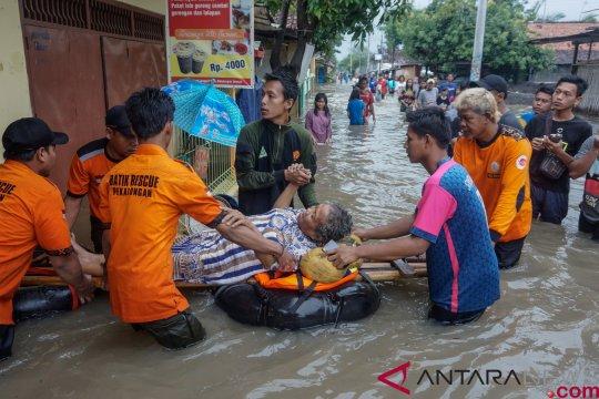 Ribuan rumah di eks-keresidenan pekalongan terendam banjir