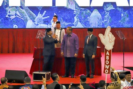 Jawaban benar teka-teki siapa bule di video viral pidato Prabowo