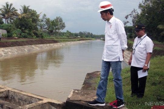 Presiden: Baru 11 persen sawah terima air dari bendungan