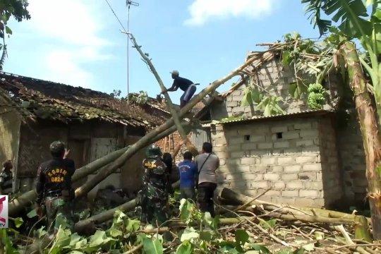 Puting Beliung terjang pemukiman warga di Jember