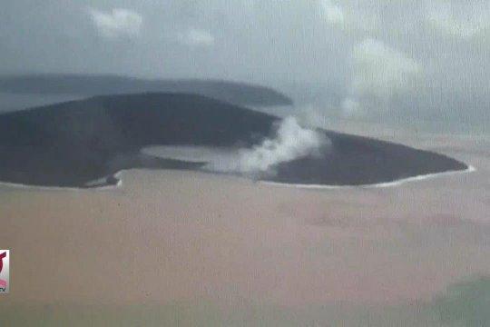 Erupsi Gunung Anak Krakatau sudah berhenti