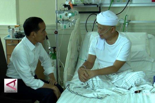 Presiden jenguk Ustaz Arifin Ilham