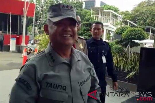 Kabakamla Laksamana Madya Achmad Taufiqoerrochman datangi gedung KPK