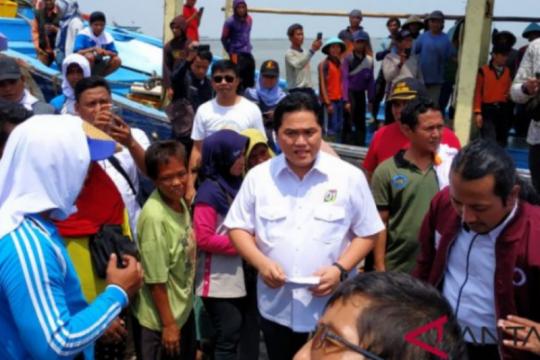 Temui nelayan Tegal, Erick Thohir janjikan ini