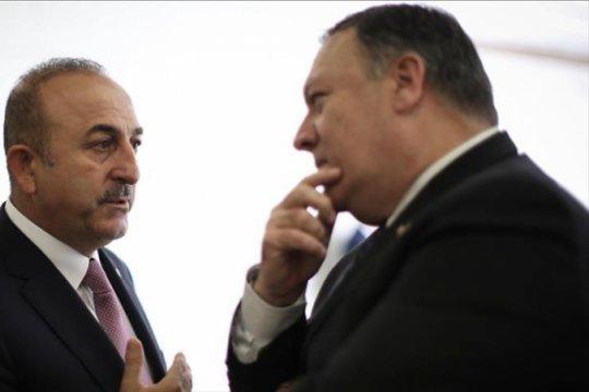 Menteri luar negeri Turki-AS bahas suriah melalui telepon