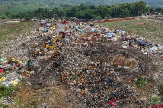 Setiap hari, 900 ton sampah warga Depok ditampung di TPA