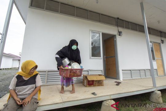 Wakil Presiden tinjau hunian sementara korban bencana Sulteng