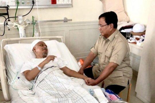 Prabowo kunjungi kediaman almarhum Ustadz Arifin Ilham