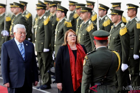 Presiden Abbas: dukungan AS bikin Israel bertindak di atas hukum
