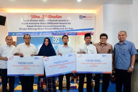 BRI Syariah salurkan bantuan untuk pemulihan gempa Palu