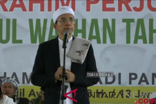 TGB minta sudahi fitnah terhadap Jokowi