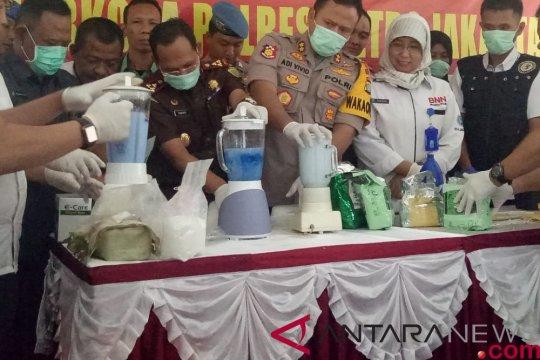 Polres Metro Jakarta Utara musnahkan 11 kilogram sabu