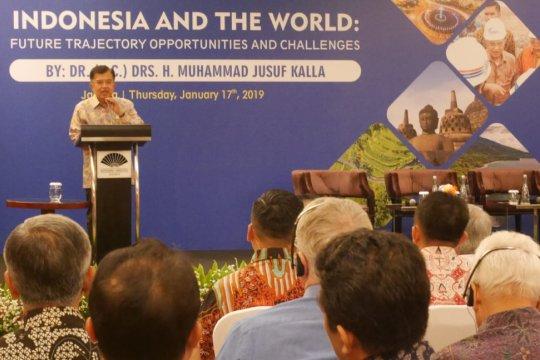 Wapres JK sebut politik Indonesia stabil