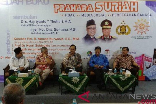 """Densus 88 sebut lima hal Indonesia tidak dapat """"di-Suriahkan"""""""
