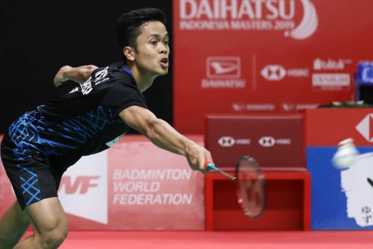 Menu makan pilihan Anthony Ginting