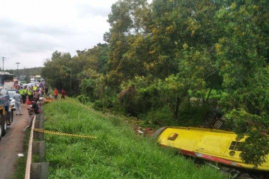 Tiga tewas dalam kecelakaan di tol Madiun-Wilangan